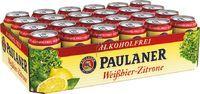 Paulaner Weissbier Zitrone alkoholfrei