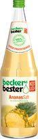 Beckers Ananassaft 6 x 1,0 L.