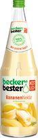 Beckers Bananen Nektar 6 x 1,0 L.