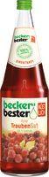 Beckers Traubendirektsaft Rot 6 x 1,0 L.