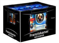 Franziskaner Hefe-Weißbier Holunder alkoholfrei 6er