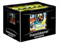 Franziskaner Hefe-Weißbier Zitrone alkoholfrei 6er