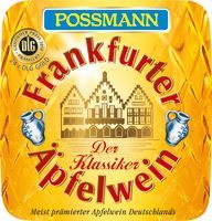 Possmann Apfelwein 20l Container