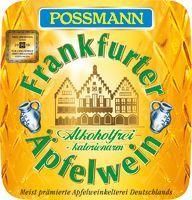 Possmann alkoholfreier Apfelwein 6x1 ltr.