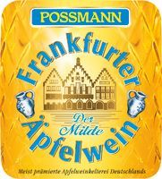 Possmann Apfelwein mild