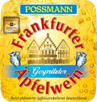 Possmann gespritzter Apfelwein12x0.33-lt. glas