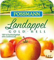 Possmann Landappel Apfelsaft Gold-Hell