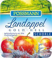Possmann Landappel Apfelschorle Gold-Hell