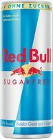 Red Bull sugarfree Ds. 24x0.25