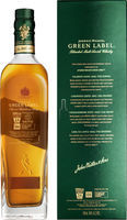 J. Walker green Label Scotch