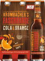 Krombacher Fassbrause Cola&Orange 4 x 6