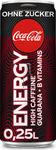 Coke Energie Zero 12x0,25 ltr.