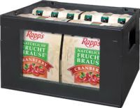 Rapps Cranberry Fruchtbrause Pin.